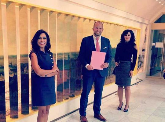 Darya Safai, Theo Francken en Yoleen Van Camp